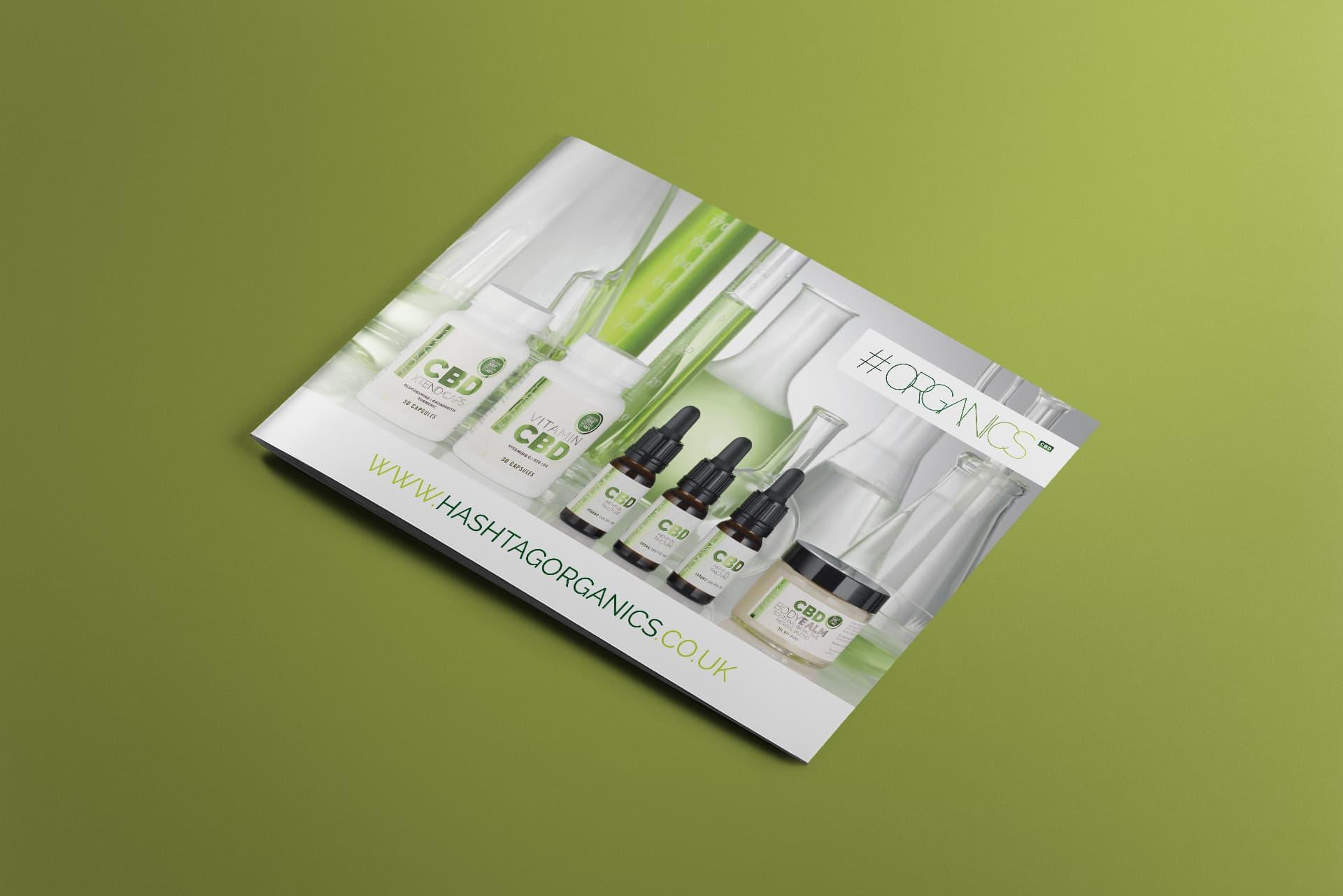 Hashtag Organics Information Brochure