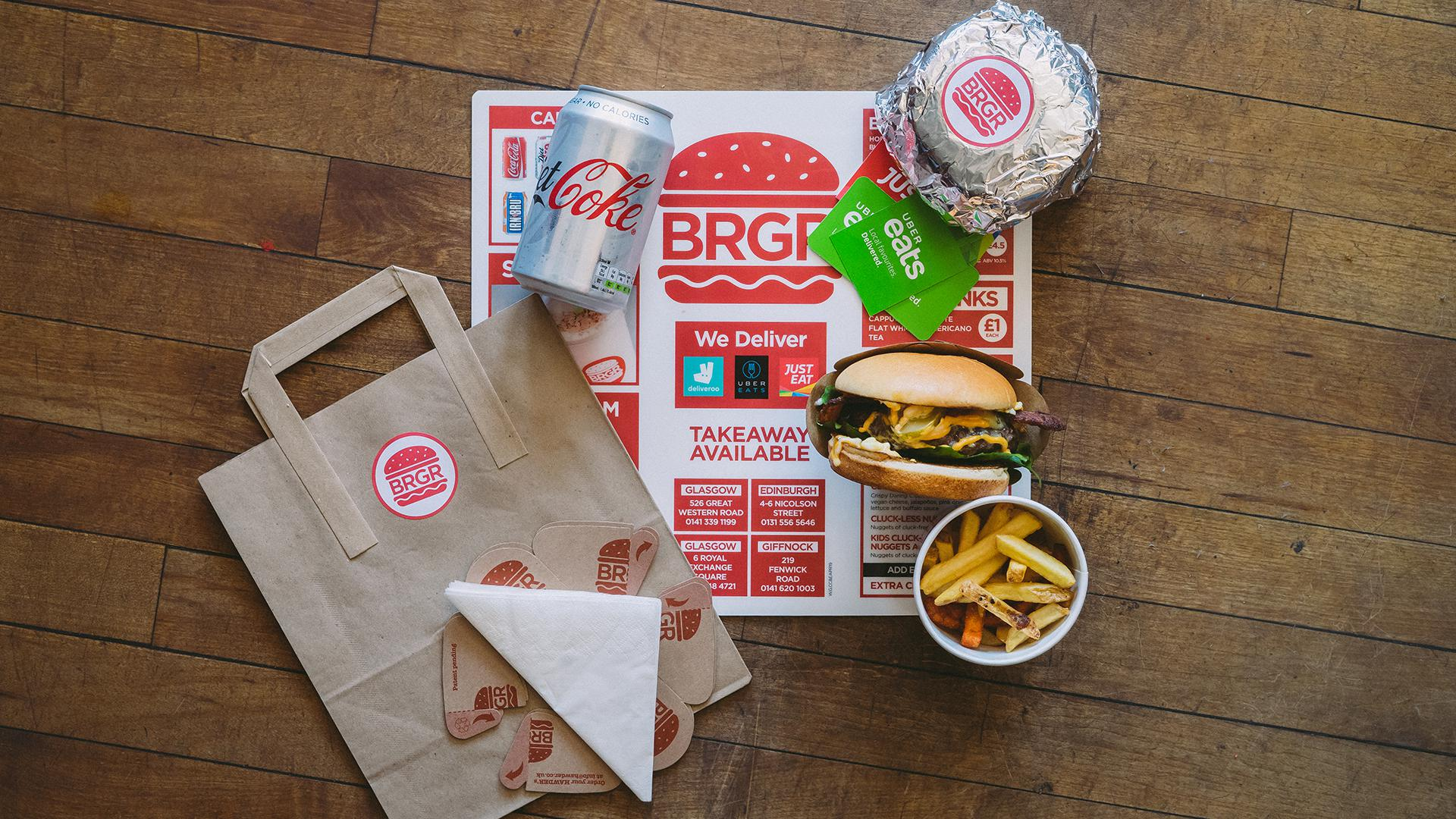 BRGR Glasgow Graphic Design