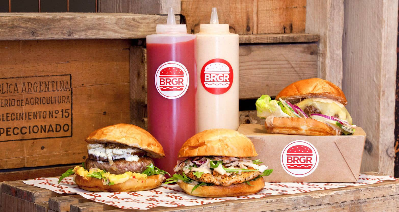 BRGR Burger Packaging