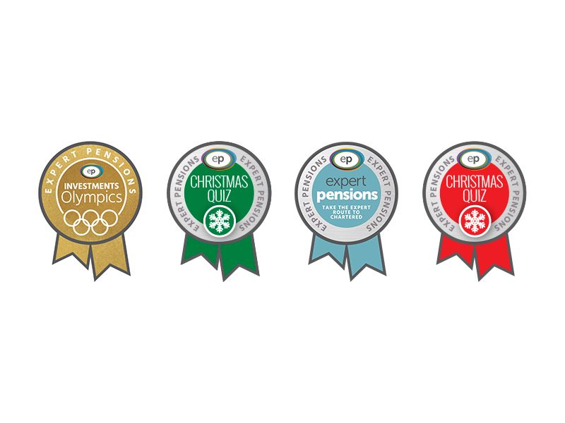 Expert Pensions E-Learning Badges
