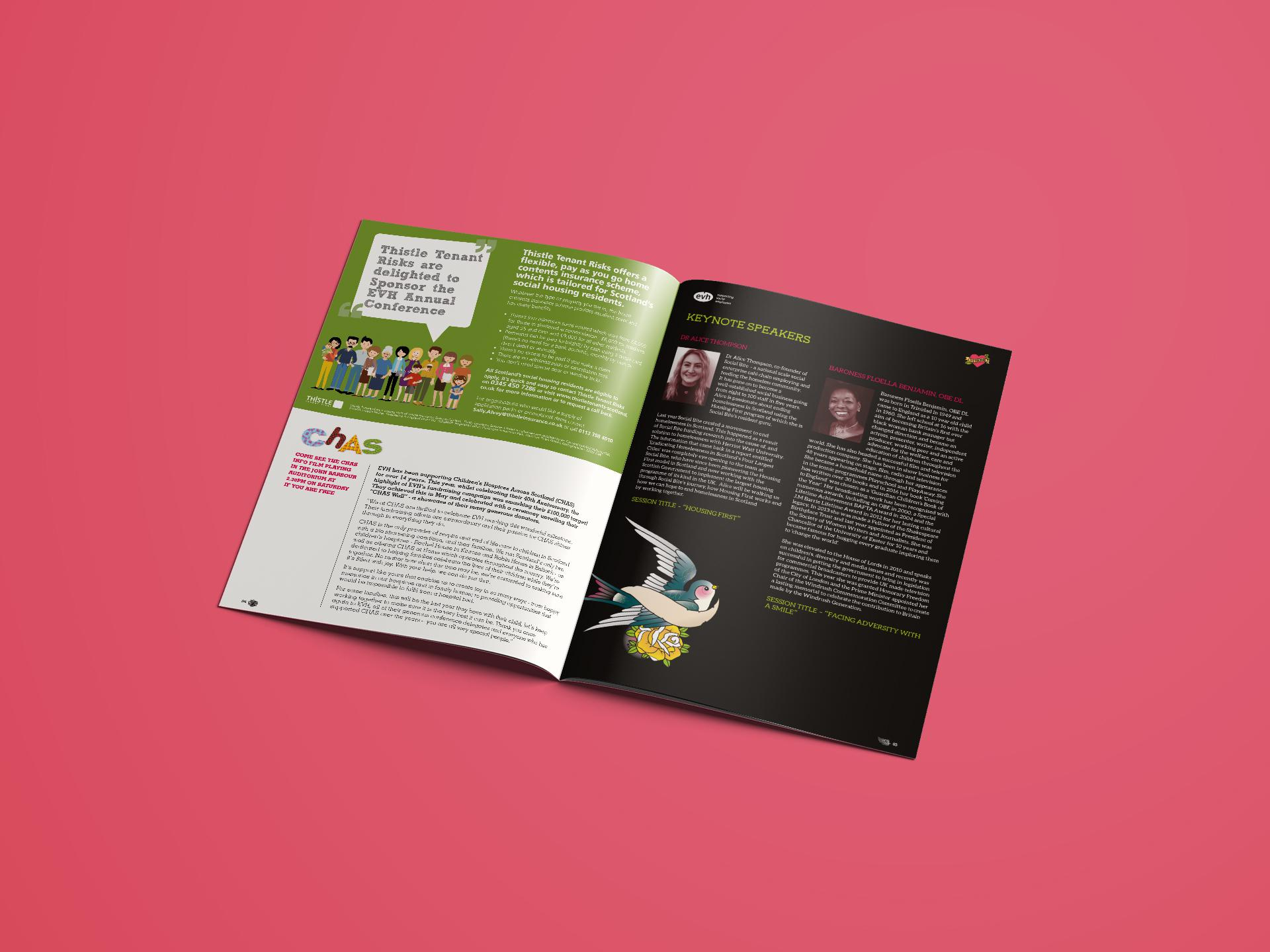 EVH Annual Conference Brochure Design