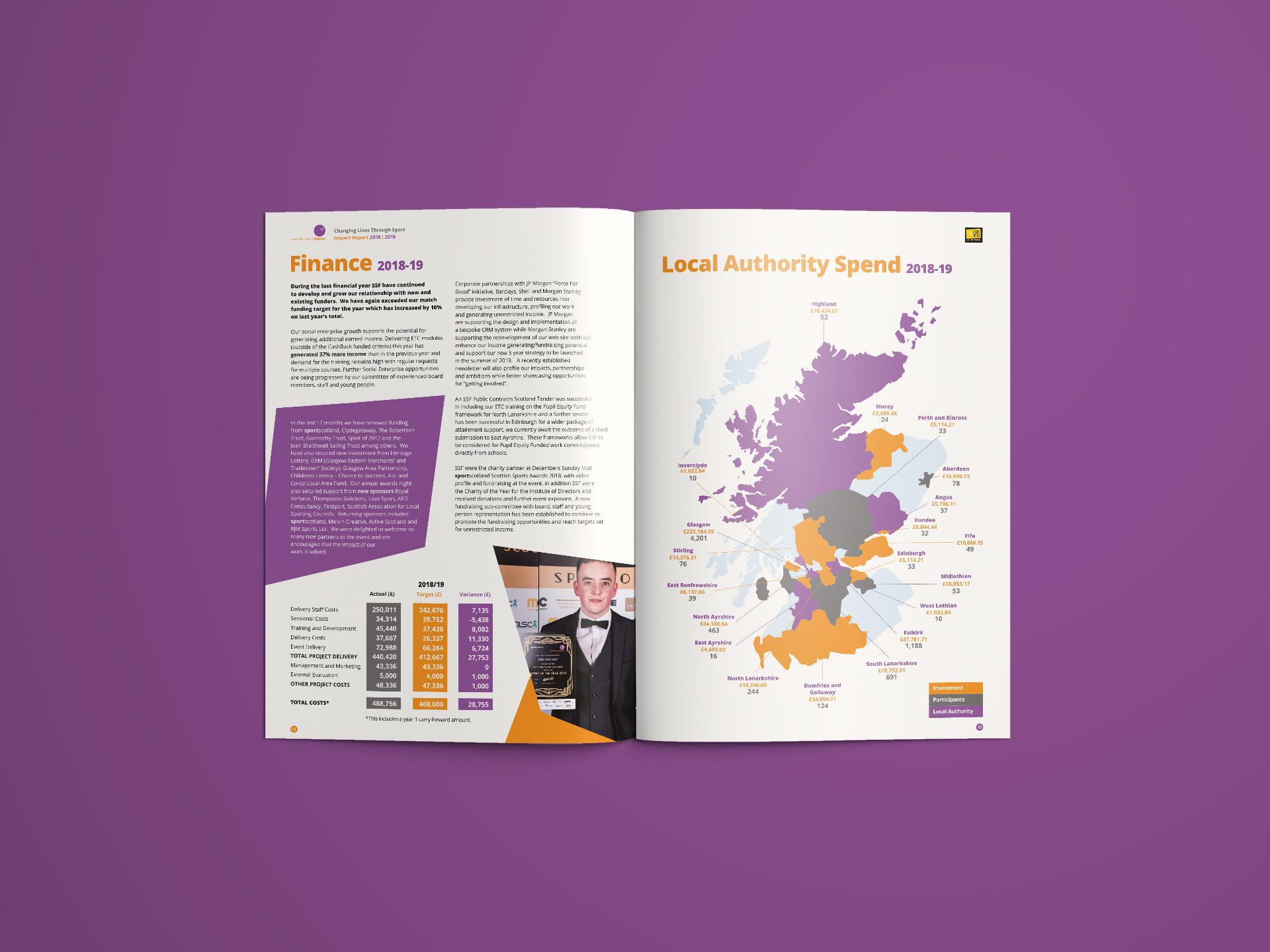 EVH Annual Conference Brochure Design