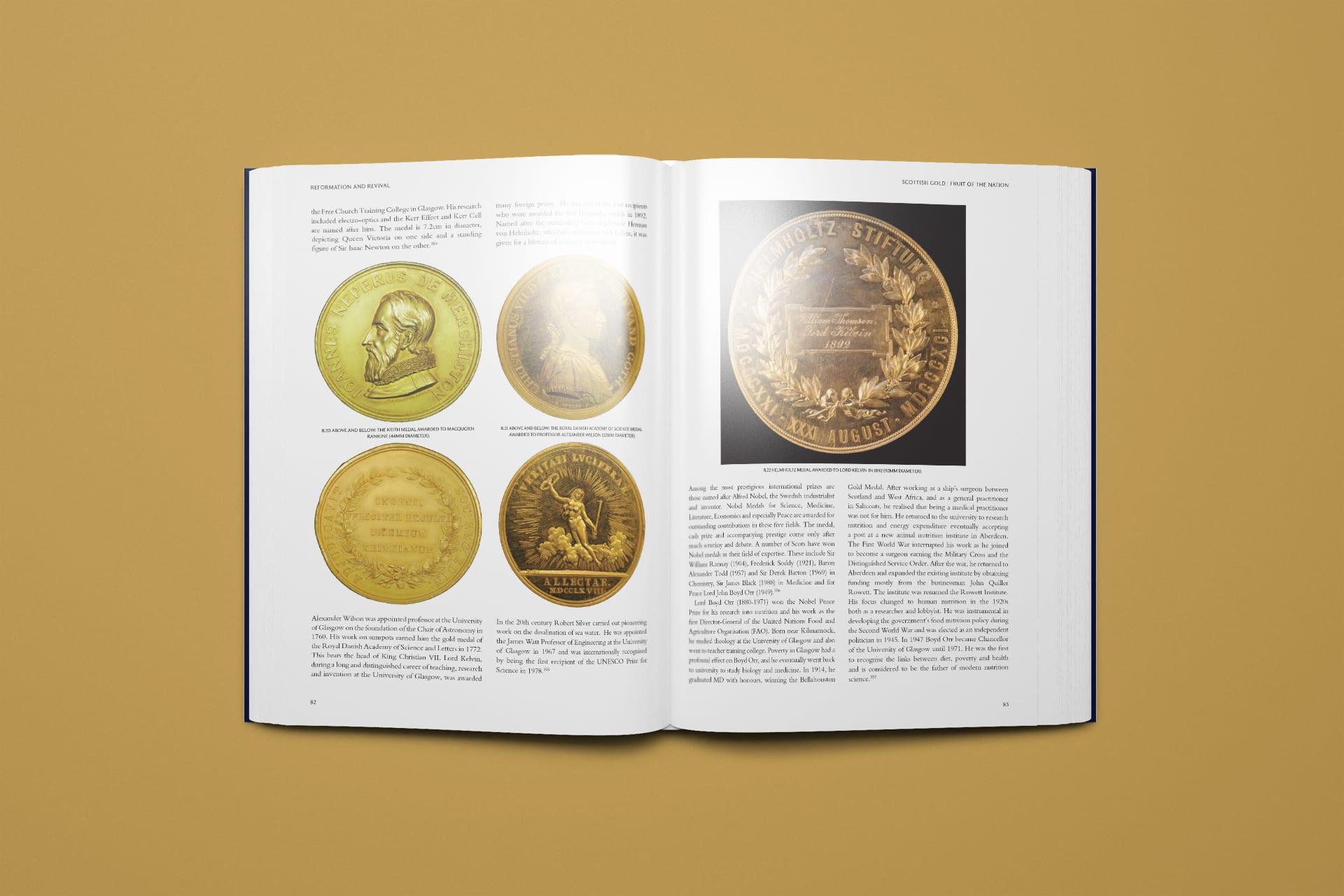Scottish Gold by Neil D. L. Clark Book Design