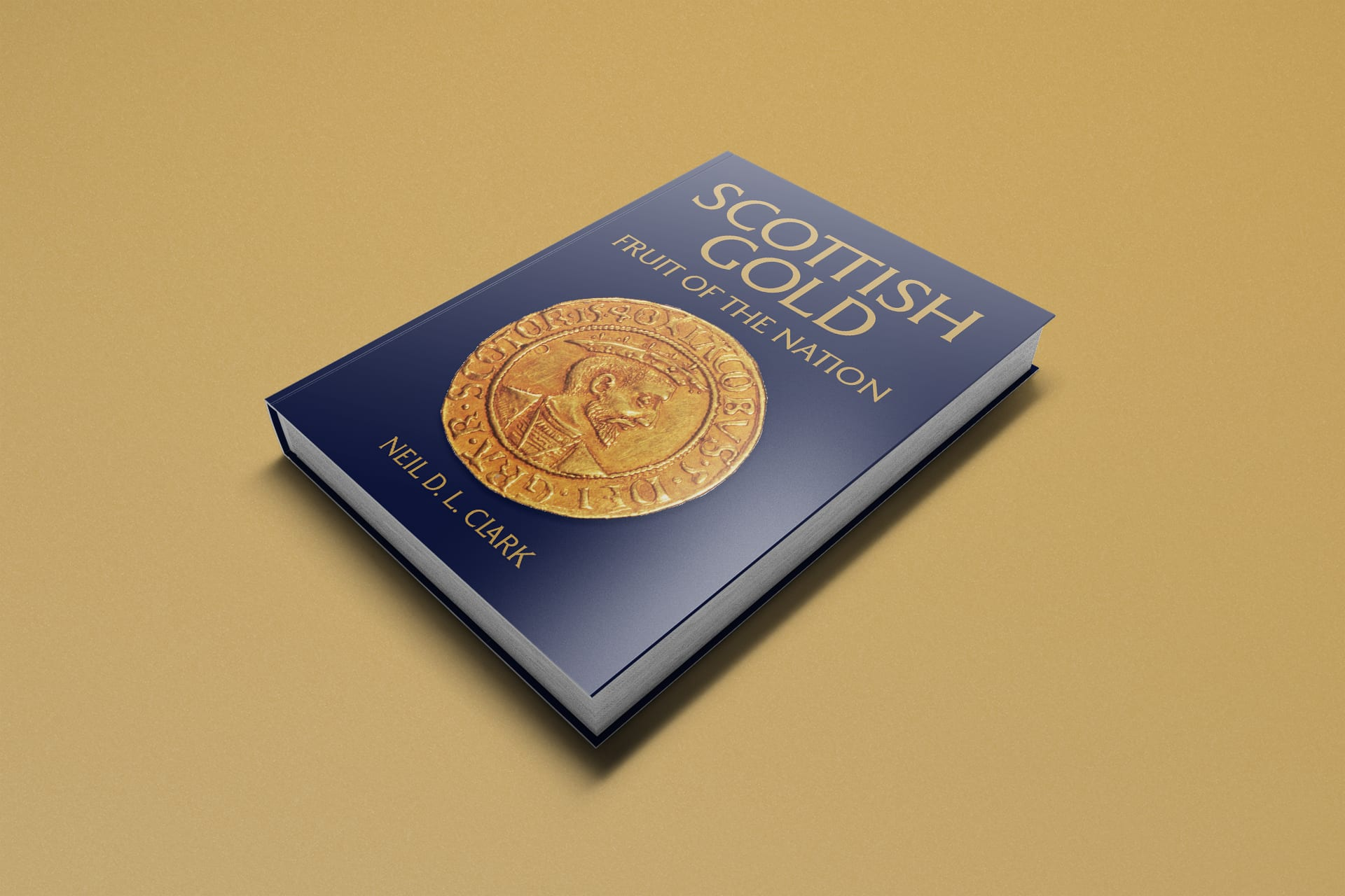Scottish Gold by Neil D. L. Clark Book Design