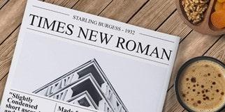 Times New Roman min